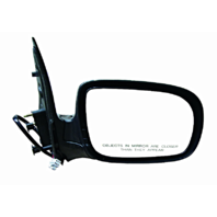 Fits 97-98 Trans Sport 97-04 Silhouette Right Pass Mirror Unpainted Fold No Heat