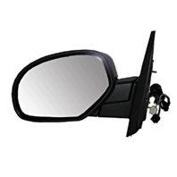 Fits 07-13 Avalanche 07-14 Suburban Left Driver Power Mirror W/Heat Pwr Folding