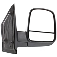 Fits 08-16 Express / Savana Right Pass Manual Mirror Manual Fold With Dual Glass