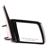 Fits 88-99 Chevrolet GMC C/K Pickup Right Pass Mirror Manual Unpainted Non-Fold