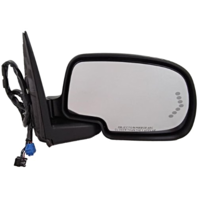 Fits 03-06 Avalanche Suburban Right Mirror Sig,Ht,Pwr Fold,Mem,Lamp No Auto Dim