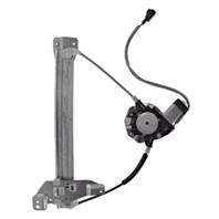 Fits 06-13 Impala 14-16 Limited Right Pass Rear Power Window Regulator w/ Motor