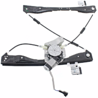 Fits 08-12 Chevy Malibu Power Window Regulator with Motor-2 Pin Connector Front Left Driver