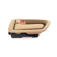 97-01 Camry Left Driver Side Front / Rear Interior Door Handle w/ Bezel Tan
