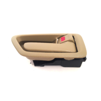 97-01 Camry Right Pass Side Front / Rear Interior Door Handle w/ Bezel Tan