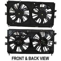 Radiator Cooling Fan Assm 00-03 Monte Carlo Impala w/o Heavy Duty Cooling