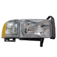 FIts 99-01 Dodge 1500 / 99-02 2500, 3500 Right Pssgr Headlamp w/o sport package