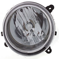 Fits 07-10 Jeep Compass 07-16 Patriot Right Passenger Headlamp Assy w/o leveling
