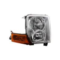Fits 06-10 Jeep Commander Right Passenger Halogen Headlamp Assembly