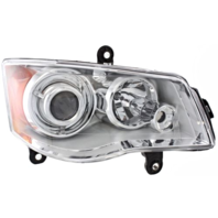 Fits 08-14 Chry Town & Country Right Pass HID Headlamp (no HID kit;noSmart Beam)