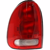 Fits 96-00 Dg Caravan / Chry Town & Country / Plymouth Voyager / 98-03 Dg Durango Left Driver Tail Lamp Unit Assembly w/Circuit Board