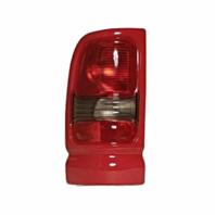 Fits 94-01 Dodge 1500 / 94-02 Dodge 2500/3500 Left Driver Tail Lamp Unit Assembly w/Red Trim