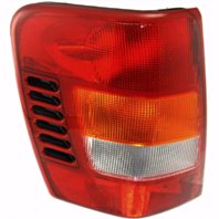 Fits 99-02 Jeep Grand Cherokee Left Driver Tail Lamp Unit Assembly Thru 11/01 w/Circuit Board