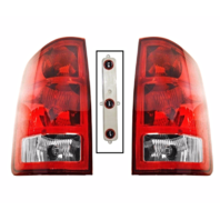 Fits 02-06 Dodge 1500 / 03-06 Dodge 2500/3500 Left & Right Set Tail Lamp Assemblies w/Circuit Board