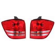 Fits 10-17 Journey Left & Right Set Tail Light Assm Quarter Mounted without Leds