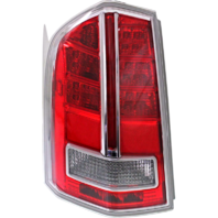 Fits 11-12 Chrysler 300 Left Driver Tail Lamp Assembly with Chrome Center Accent