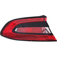 Fits 13-16 Dodge Dart Left Driver Tail Lamp Assembly Quartered Mounted