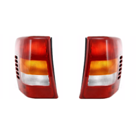 Fits 99-02* Jeep Grand Cherokee Left & Right Set Tail Lamp Assemblies Thru 11/01 w/Circuit Board