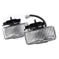 Fits 97-01 Cherokee Left & Right Front Fog Lights Set New Aftermarket