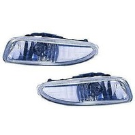 01-02 Dodge Neon & 01 Plymouth Neon Left & Right Fog Lamp Assemblies (pair)