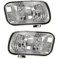 Fits 09-12 Ram 1500 Pickup; 10-17 Ram 2500 3500 Pickup Left & Right Fog Lamp Asm