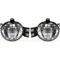 Fits 02-08 Dodge 1500 & 03-09 2500 & 03-10 3500 Pickup Left & Right Fog Lamp Set