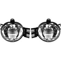Fits 02-08 Ram 1500 & 03-09 2500 & 03-10 3500 Pickup Left & Right Fog Lamp Set