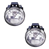 Fits 99-01 Dodge 1500 Sport Pickup 99-02 2500 3500 Left & Right Fog Lamp (pair)