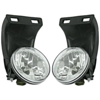 Fits 99-02 Dodge 2500 3500 w/o Sport Package Left & Right Fog Lamp Assm (pair)