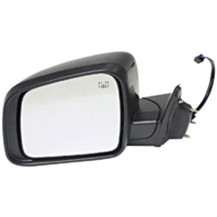 Fits 11-17 Grand Cherokee Left Driver Mirror Power Smooth W/Heat No Blind Spot