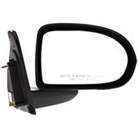 Fits 07-16 Jeep Compass Right Passenger Mirror Manual Textured Black
