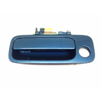 Fits 97-01 Camry Painted Left Driver Front Ext. Door Handle Sailfin Blue