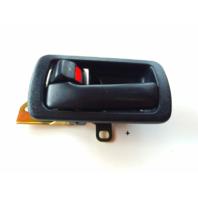 Fits 92-96 Camry Left Driver Front / Rear Interior Door Handle & Bezel Blue