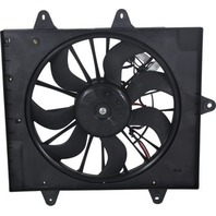 Radiator Fan Assembly Fits 06-10 PT Cruiser w/ Turbo