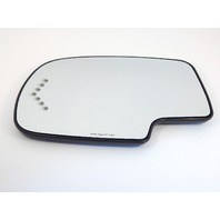 Fits Escalade Avalanche Suburban Tahoe Yukon Left Dr Mirror Glass w/Heat /Signal