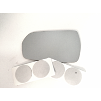 Fits 98-02 Accord Coupe Power Non Folding Type Left Driver Mirror Glass Lens