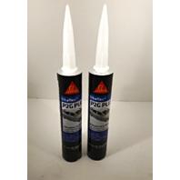 Auto Glass Urethane Adhesive, Sealant 2 Tubes SikaFlex P2G Plus