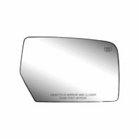 07-11 Expedition, 07-12 Navigator, Heated Right Passenger Convex Mirror Glass Lens with Mounting Bracket, USA