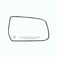 Fits 10-16 Chevy Equinox, GMC Terrain Right Pass Heated Mirror Glass & Holder