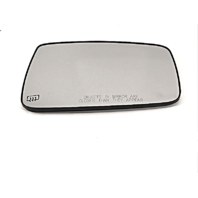 Heated Right Pass Mirror Glass w/Rear Holder for 09-17 Ram 1500 10-17 2500 3500