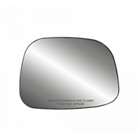 Fits 02-07 Rendezvous Right Passenger Heated Convex Mirror Glass w/Rear Holder