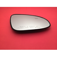 Fits 14-17 Corolla Right Pass Heated Convex Mirror Glass Lens w/ Rear Holder
