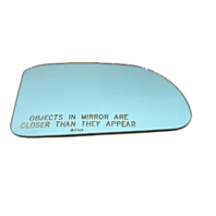 Fits 89-91 Mazda RX-7 Right Passenger Convex Blue Mirror Glass Lens