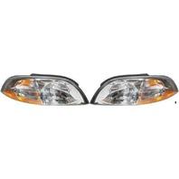 Fits 99-03 Ford Windstar Left & Right Headlamp Assemblies (pair)