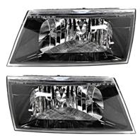 Fits 03-04 Mercury Marauder Left & Right Headlamp Assemblies - Set