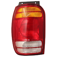 Fits 98-01 Ford Explorer / Mercury Mountaineer Left Driver Tail Lamp Unit Assembly Quarter Mounted