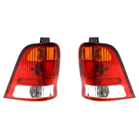 Fits 99-03 Ford Windstar Left & Right Set Tail Lamp Unit Assemblies