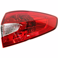Fits 11-13 Ford Fiesta Sedan Right Passenger Tail Lamp Assembly Quarter Mounted