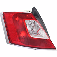 Fits 10-12 Ford Taurus Left Driver Tail Lamp Unit Assembly w/Chrome Trim Quarter Mounted