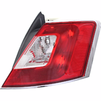 Fits 10-12 Ford Taurus Right Passenger Tail Lamp Assembly with Chrome Trim